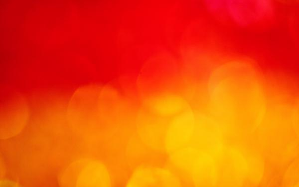 abstract in red and yellow